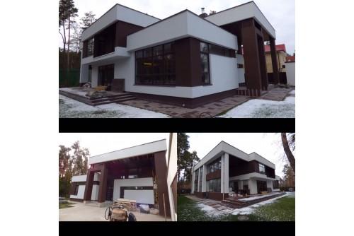 Новый Дом в стиле модерн АРЕНДА